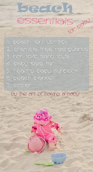 Baby Beach Essentials
