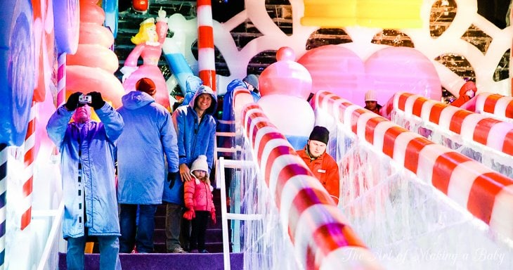 Christmas At Gaylord Palm Hotel And Ice Exhibit