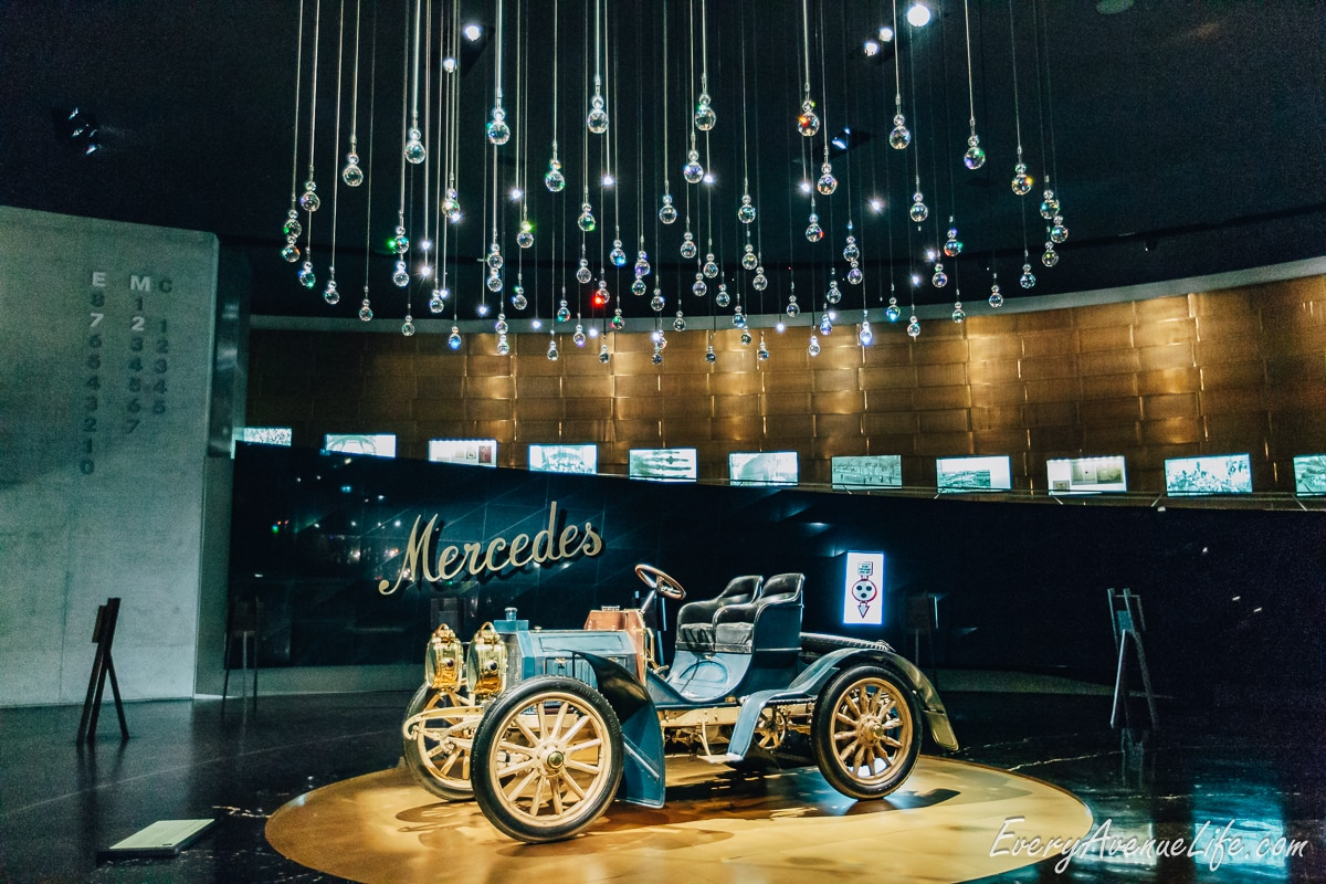 Mercedes-benz Museum In Germany With Kids