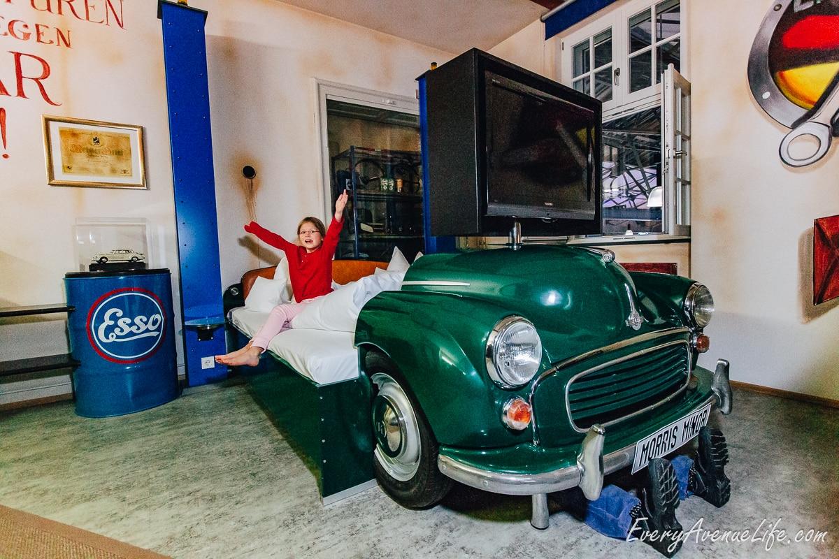 V8 Hotel For Car Lovers